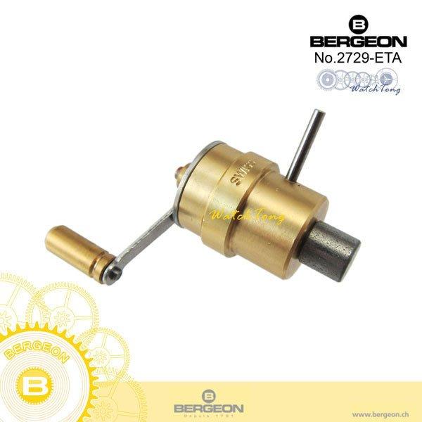 【鐘錶通】B2729-ETA-09 ETA《瑞士BERGEON》發條鑰匙/適用 ETA ├機械機芯維修/手錶維修工具┤
