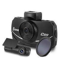 【行車達人】 現貨 保固兩年 送64G+DP4 DOD CS9 前後 WIFI 測速提示 行車記錄器 2.5K