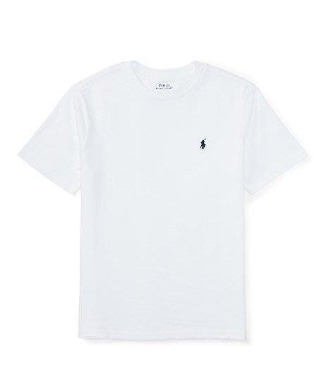 美國百分百【Ralph Lauren】男生 T-shirt 短袖 小馬 RL T恤 polo 深藍 灰 白 黑 B018