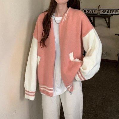 毛衣女秋冬2020新款韓版毛線上衣百搭寬鬆外穿慵懶風針織開衫外套 【雙旦狂歡購】