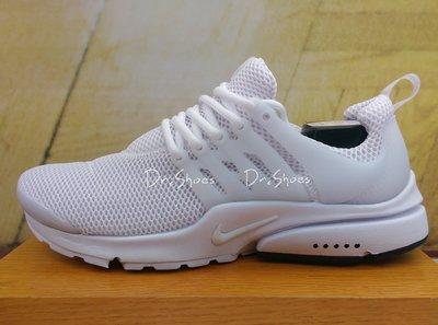 【Dr.Shoes 】 Nike Air Presto 男鞋 全白 魚骨 網布 慢跑鞋 848132-100 桃園市