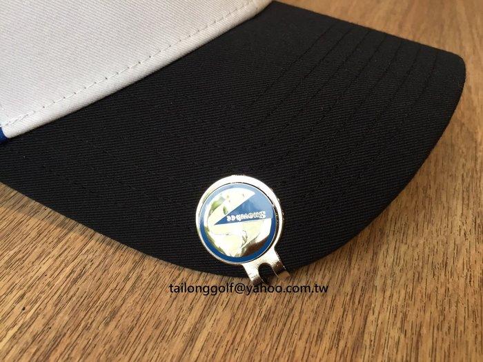 全新 Snowbee Golf 高爾夫 球標 夾帽馬克  Ball Marker