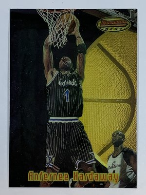 1997-98 Bowman's Best Preview #BBP4 Anfernee Hardaway Magic