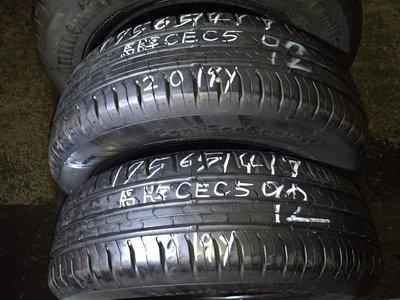 175 65 R 14 德國 馬牌 CEC 5 19年20週製造 9成新 落地胎 二手 中古 輪胎 一輪1200元