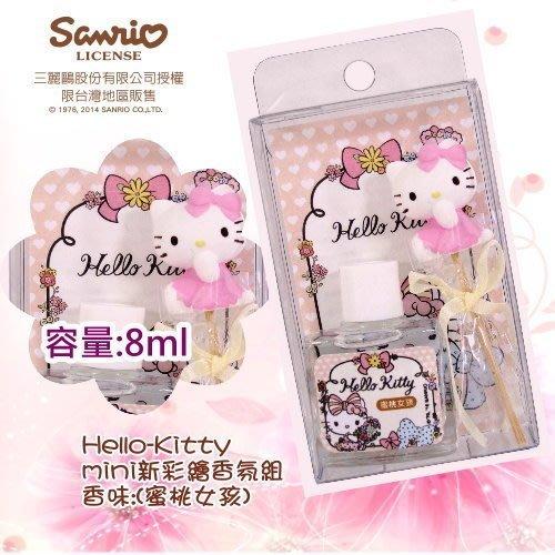 三麗鷗 Hello Kitty mini香氛組-多款香味 (8ml) 新彩繪款【灰姑娘城堡】