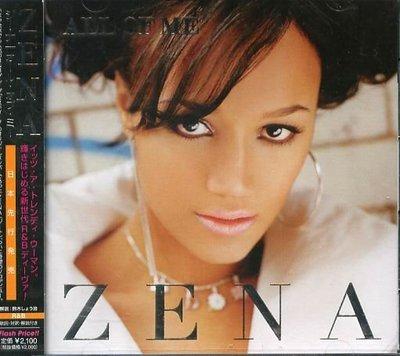 K - ZENA - ALL OF ME - 日版 +2BONUS - NEW