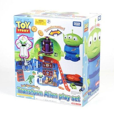 takara tomy 玩具總動員 變身吧 三眼怪 三眼怪變身披薩星球組