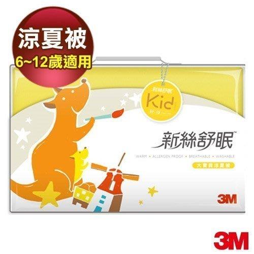 【全新含稅】3M新絲舒眠大寶貝專用被 Z120 涼夏被 (6~12歲學齡兒童適用) 可水洗.可烘乾.透氣佳 兒童棉被