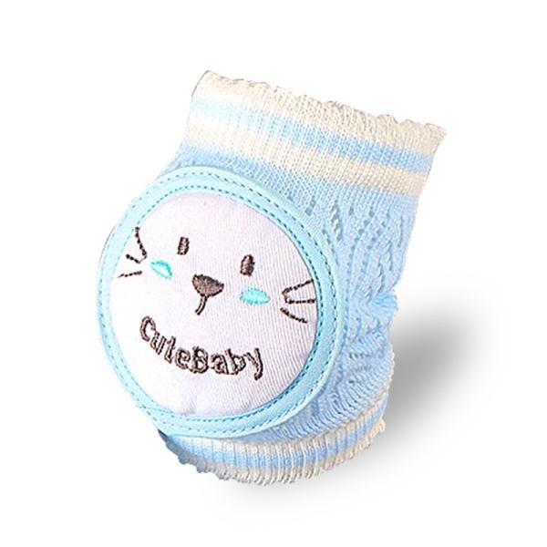 春季上新 定制寶寶護膝夏季網眼薄款嬰兒爬行學步04歲兒童防摔運動護肘腿套