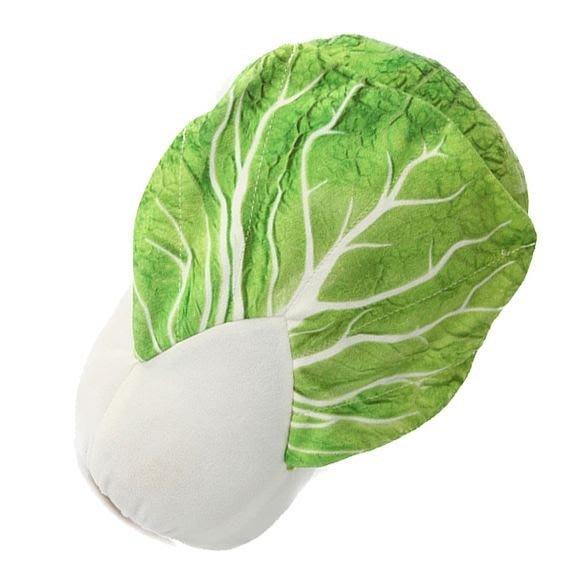 【現貨】大白菜 可剝皮白菜 抱枕 白菜抱枕 蔬菜 水果 仿真 靠墊 靠枕 設計 3D 仿真 大白菜 抱枕 白菜 抱枕