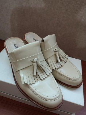 Discovered 日本潮流品牌 男生 高跟 皮鞋 拖鞋