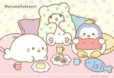 日本拼圖.三麗鷗 凱蒂貓 三麗鷗 毛毯熊 莫普 白熊 300片拼圖,33-155
