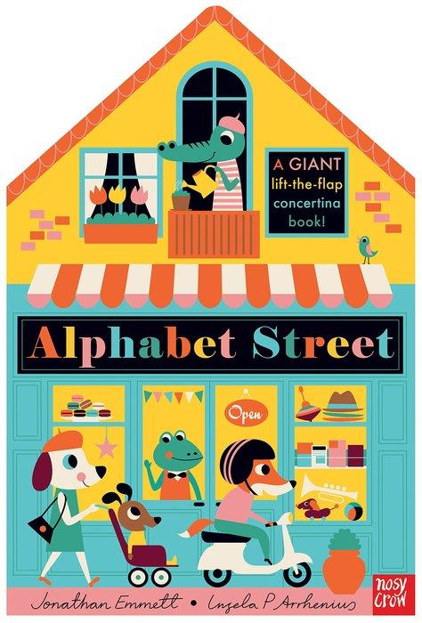 *小貝比的家*ALPHABET STREET/精裝/3~6歲/翻翻書