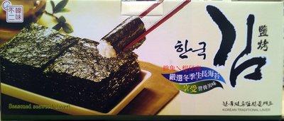 HAN WHA 韓味不二鹽烤海苔禮盒36入 180g/盒