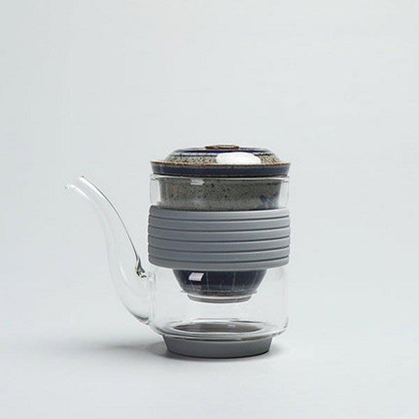 5Cgo【茗道】含稅會員有優惠 543016557615 耐熱高溫玻璃加厚公道杯帶陶瓷茶漏功夫茶具茶海圓形公杯過濾茶器