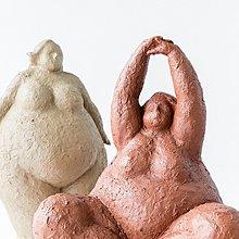 〖洋碼頭〗北歐風格創意樹脂裝飾品現代簡約雕塑胖女人藝術擺件樣板房小擺設 fjs935