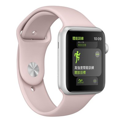 Apple Watch Series 3 42mm 二手-9成9新(新) 粉沙色運動錶帶