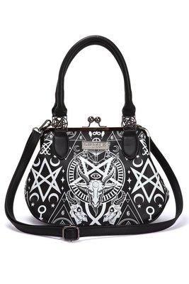 【丹】KS_Holly Wouldn't Handbag 五芒星 眼睛 羊頭 造型 手提包 肩背包 側背包