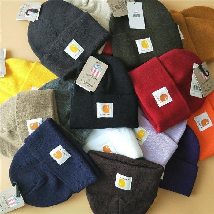 美式卡哈特經典針織帽Carhartt冬冷帽保暖毛線帽男女士套頭帽潮流