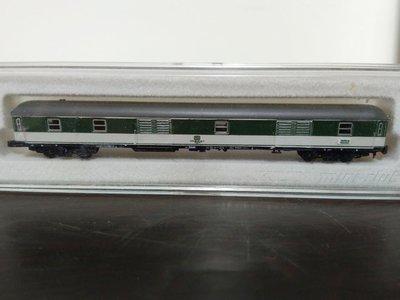(全新未拆)marklin8722綠色行李車廂(A168)