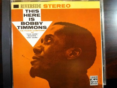 Bobby Timmons ~ This Here Is Bobby Timmons。