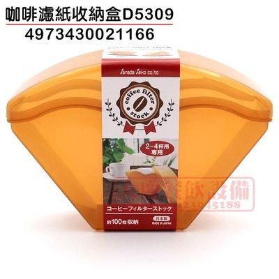 大慶餐飲設備 咖啡濾紙收納盒(4973430021166/日本製/) 約可置放濾紙100枚 濾紙盒 濾紙收納盒