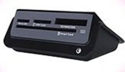 《全新》CHT多合一功能讀卡機(MS100)-黑
