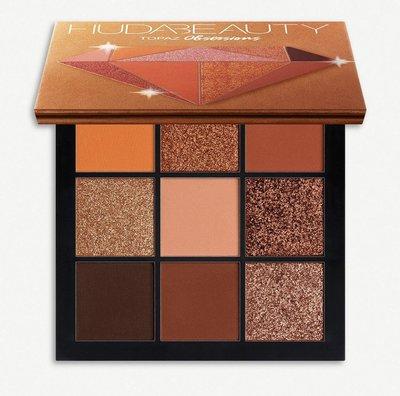 (預購)(色號:Topaz)杜拜 9色眼影Huda Beauty Obsessions Eyeshadow Palette