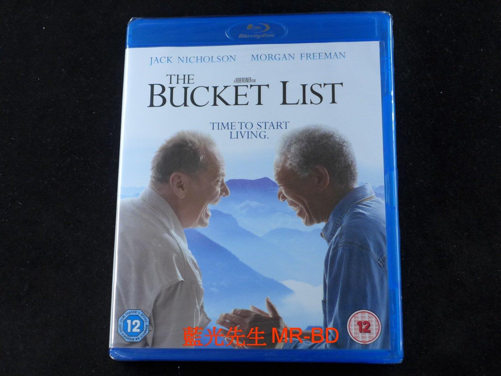 [藍光BD] - 一路玩到掛 The Bucket List - 無中文字幕
