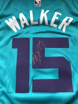 夏洛特山貓 Kemba Walker 簽名球衣 紐約尼克 賽爾提克