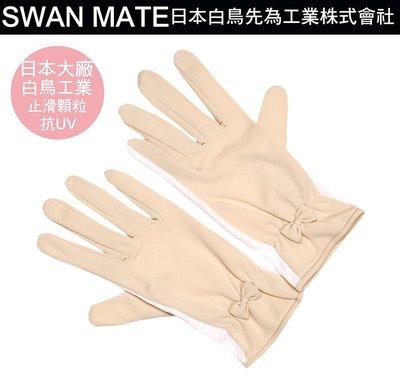大品牌 白鳥纖維工業 抗UV 手套 有止滑顆粒 開車騎車 家事手套 自行車手套 抗UV 防