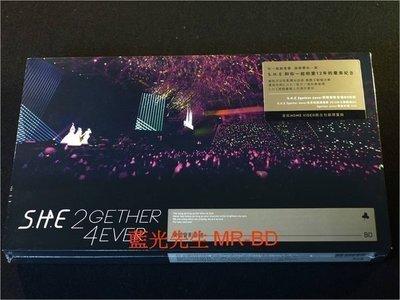 [藍光BD] - S.H.E : 2gether 4ever 世界巡迴演唱會 BD + DVD 雙碟精裝限量版 - SHE