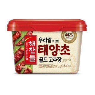 韓國 CJ 韓式辣椒醬 辣椒醬 500G