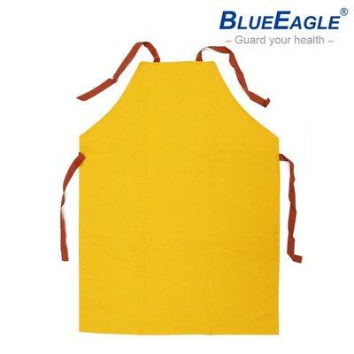 【醫碩科技】藍鷹牌 R-72100 塑膠圍裙 黃色PVC布 適合伙房/工廠/水電