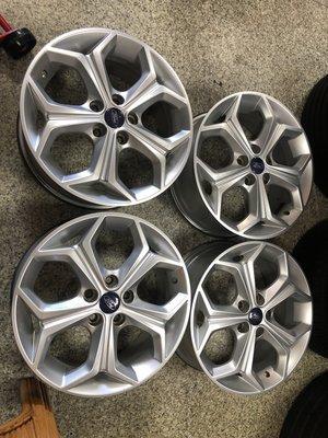 兆賀輪胎~5孔108 FORD FOCUS 17 鋁圈 福特 MK3
