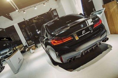 【政銓企業有限公司】BMW G30 G31 升級 F90 M5 P款 1:1抽真空 高品質 卡夢 後下巴 現貨 免費安裝