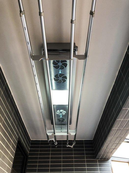 【昇‧日光工房】數位電動升降曬衣架-多功能型K6福利品