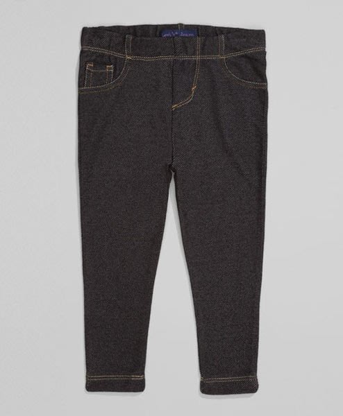 【紐約范特西】現貨 Levis 851580002 Toddler Girls Essential Leggings 牛仔綿褲 褲子 女童裝 女童褲 黑