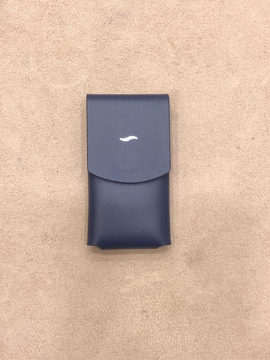 s.t.dupont 都彭 slim-7  專用皮套 藍
