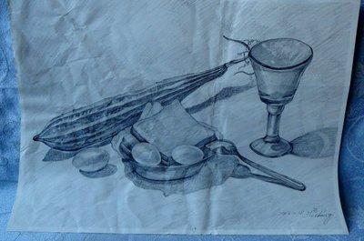 紫色小館1-1-----------鉛筆畫2
