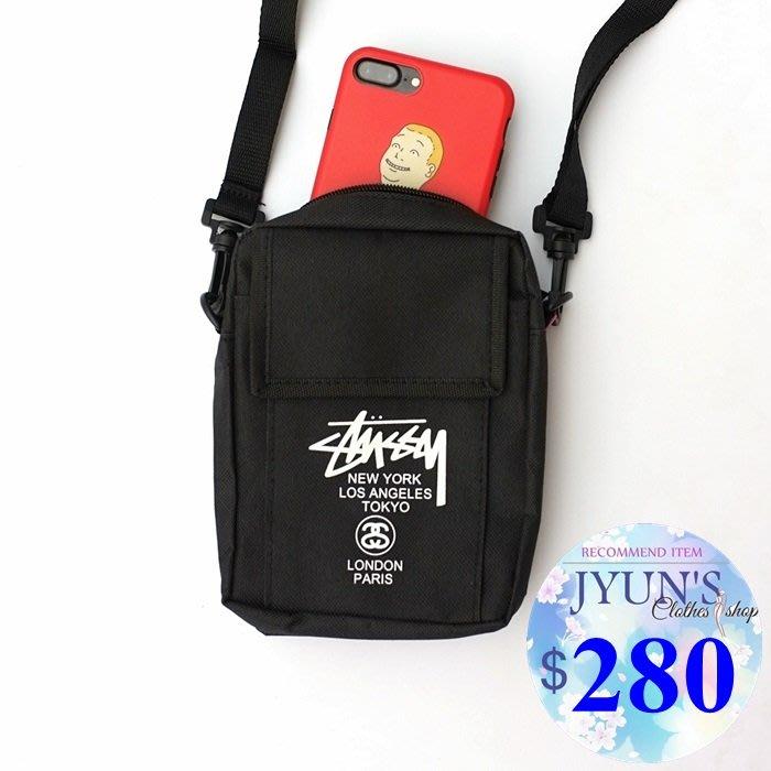 側背包[Q240]韓版潮女男情侶多功能收納包小背包腰包相機包手機包嘻哈款1色-JYUN'S預購