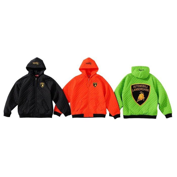 【紐約范特西】預購 SUPREME SS20 Automobili Lamborghini Hooded 工作 夾克