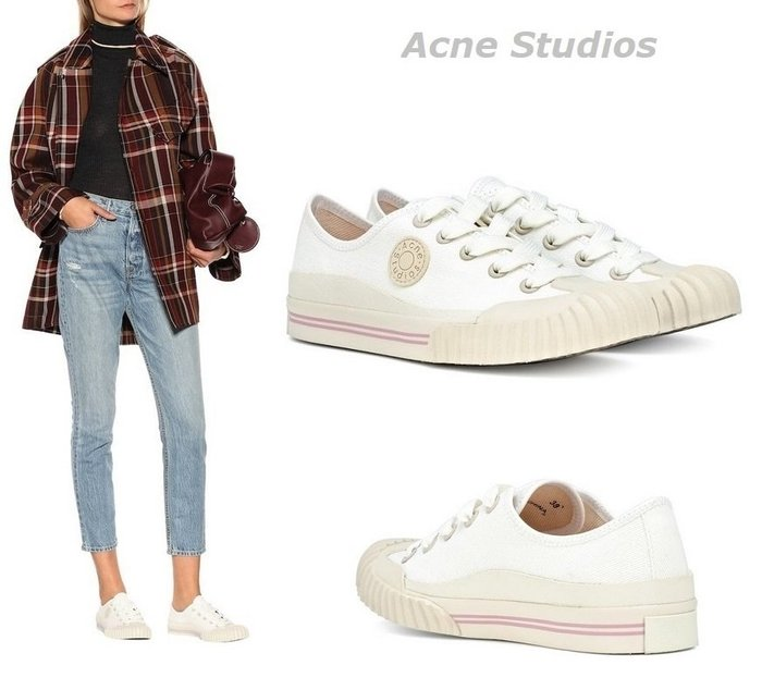 GoodStyle 歐美新款 Acne Studios Blå Konst帆布休閒鞋 優質選擇~特