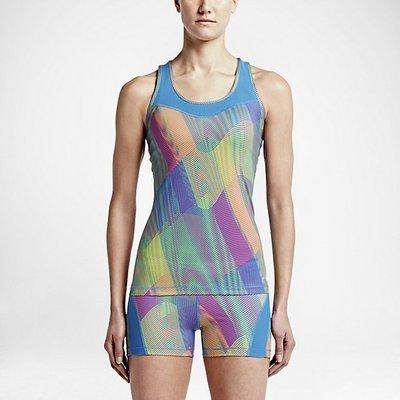 (預購商品) Nike Pro Hypercool Frequency 彩色 緊身 透氣 運動 背心 上衣
