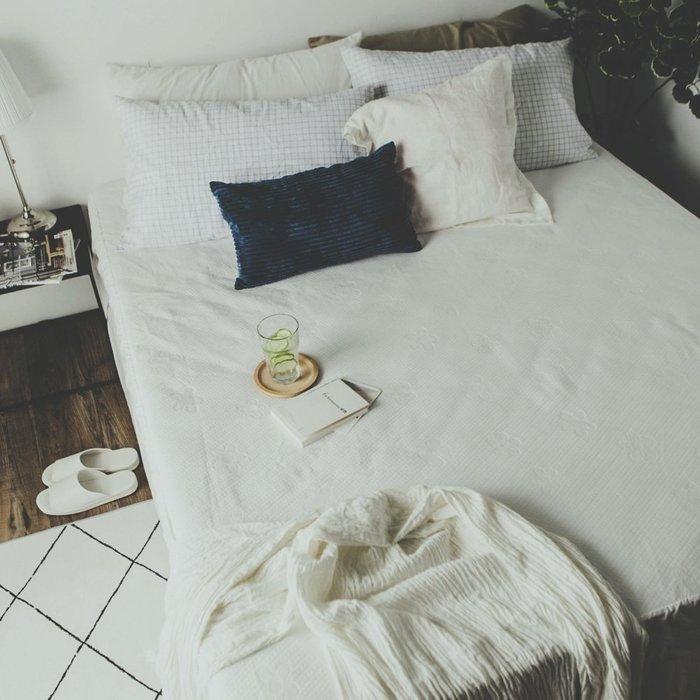 MIT保潔墊 【物理防水透氣保潔墊】床包式 特大6×7尺 絲薇諾
