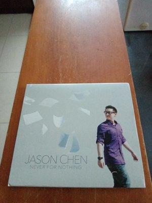 JASON CHEN 華裔西洋風歌手 陳以桐 NEVER FOR NOTHING 專輯CD  只拆封