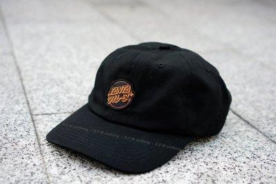 【 K.F.M 】SANTA CRUZ Mixed Up Strapback Hat 經典滑板老牌 日文字 老帽 彎帽