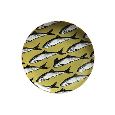 〖洋碼頭〗瑞典StudioLisaBengtsson長石陶瓷小碟子小魚 L3036