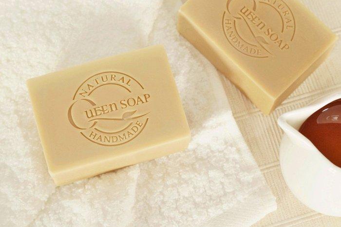 女王天然手工皂「巢蜜羊奶-呵護滋養皂」  手工香皂 手工肥皂 冷製手工皂
