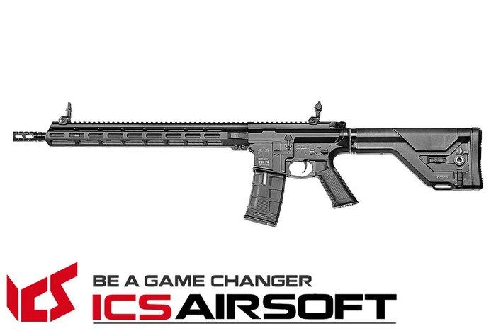 【翔準軍品AOG】ICS CXP-MMR DMR(黑)UKSR托 EBB M-Lok 全金屬 電動 ICS-400